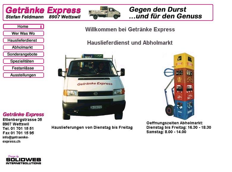 Getränke Express Stefan Feldmann Ettenbergstrasse 35 CH 8907 ...